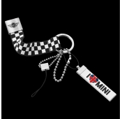 Брелок Mini I Love MINI Key Ring