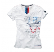 Женская футболка BMW Motorsport Graphic T-Shirt, ladies
