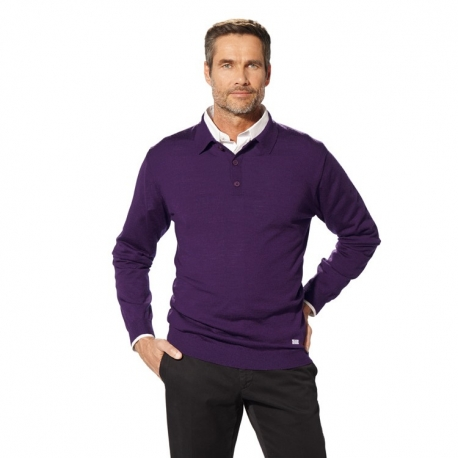Мужской свитер BMW Collection Men's Knitted Polo Sweater